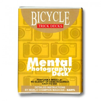 Bicycle Mental Photo Red Back