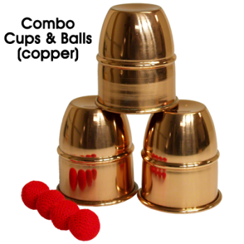 Combo Cups & Balls (Copper)