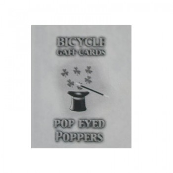 Bicycle Pop Eyed Popper Red Back