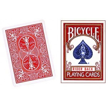 "Bicycle ""Three Way Forcing"" Red Deck"