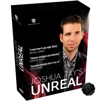 Unreal by Joshua Jay - BOX com 4 DVD's