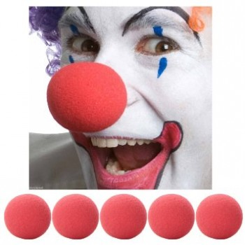 Clown nose red