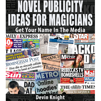 Profisso mgico novel publicity for magicians by devin knight ebook fandeluxe Choice Image