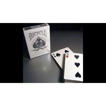 Bicycle Ghost Svengali White Deck