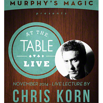 At the Table Live Lecture - Chris Korn 11/12/2014 - video DOWNLOAD