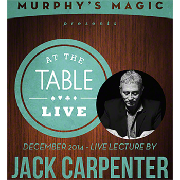 At the Table Live Lecture - Jack Carpenter 12/3/2014 - video DOWNLOAD