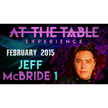 At the Table Live Lecture - Jeff McBride 2/11/15 - video DOWNLOAD