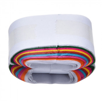 Mouth coil interlaced multicolor