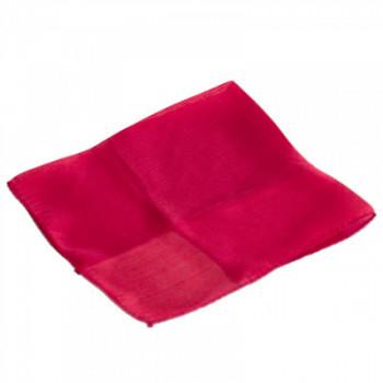 Lenço Vermelho 45 X 45 cm