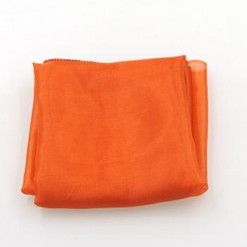 Lenço laranja 15 X 15 cm